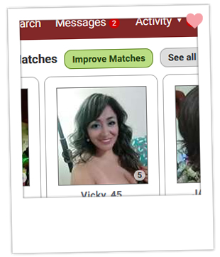 Latin American Cupid improve matches