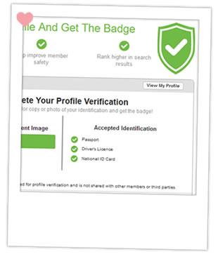 AsianDating.com verrified badge