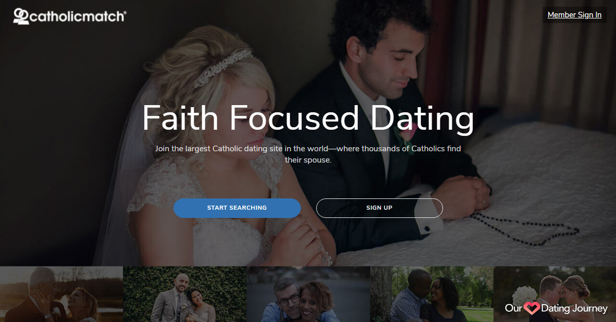 Catholic Match website