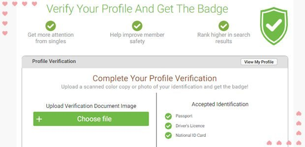 CaribbeanCupid account verification