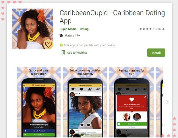 free mature dating in carribean