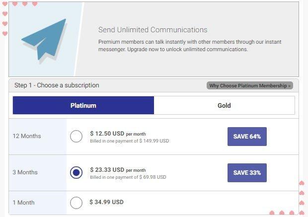 DominicanCupid Platinum Membership