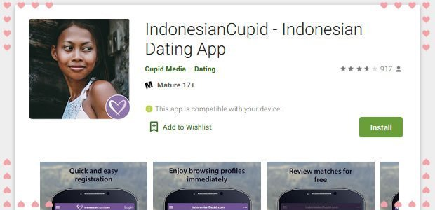 Indonesian Cupid App