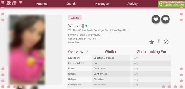Very Detailed Profiles