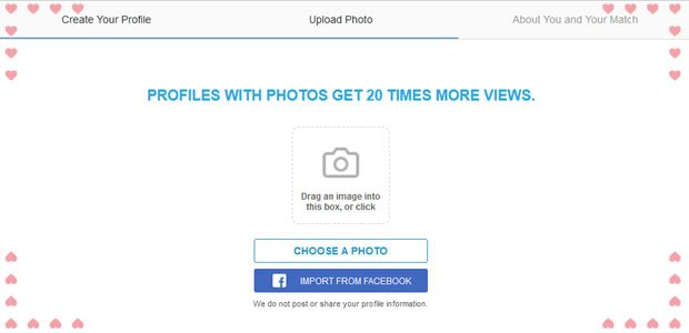 upload photos