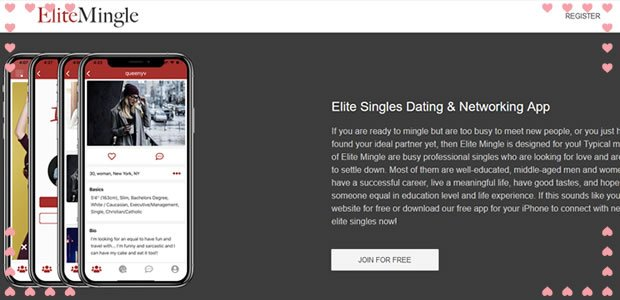 elitemingle millionaire dating site