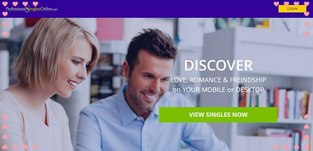 dating sites for professionals Free and Single