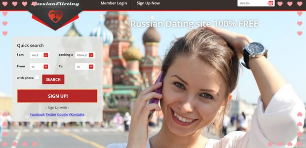 Russian Flirting