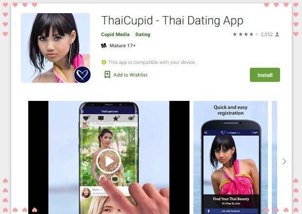the ThaiCupid app