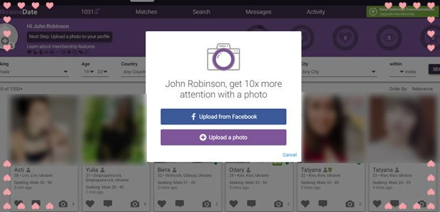 upload photos from FaceBook