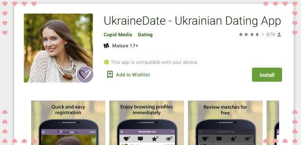 Ukraine Date app to download