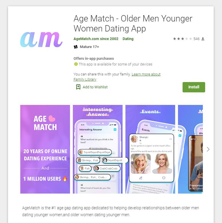 Age Match App
