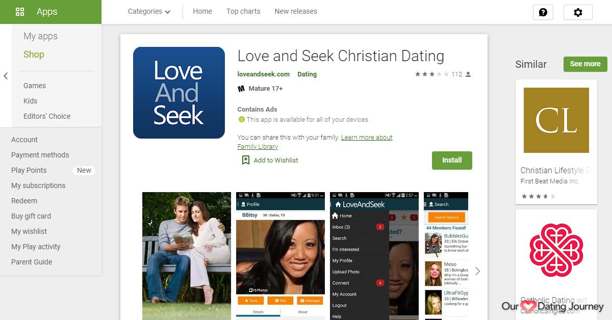 LoveAndSeek App