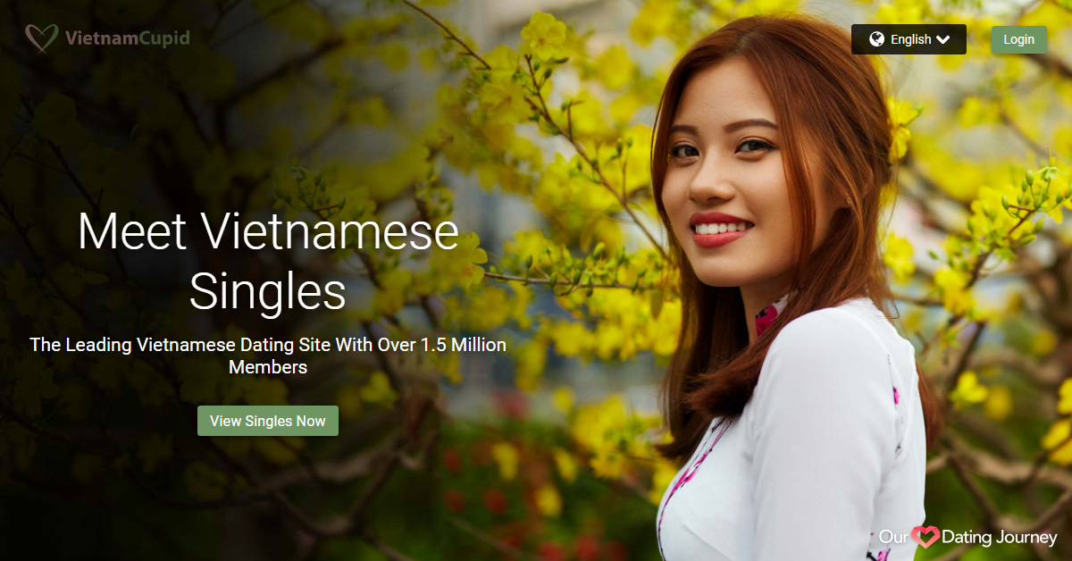 VietnamCupid home page