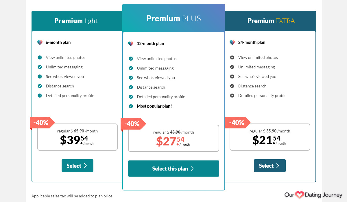 eharmony premium memberships