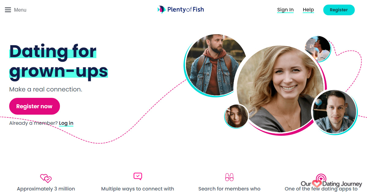 Plenty of Fish's Home