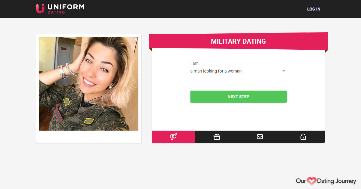Uniform Dating's website