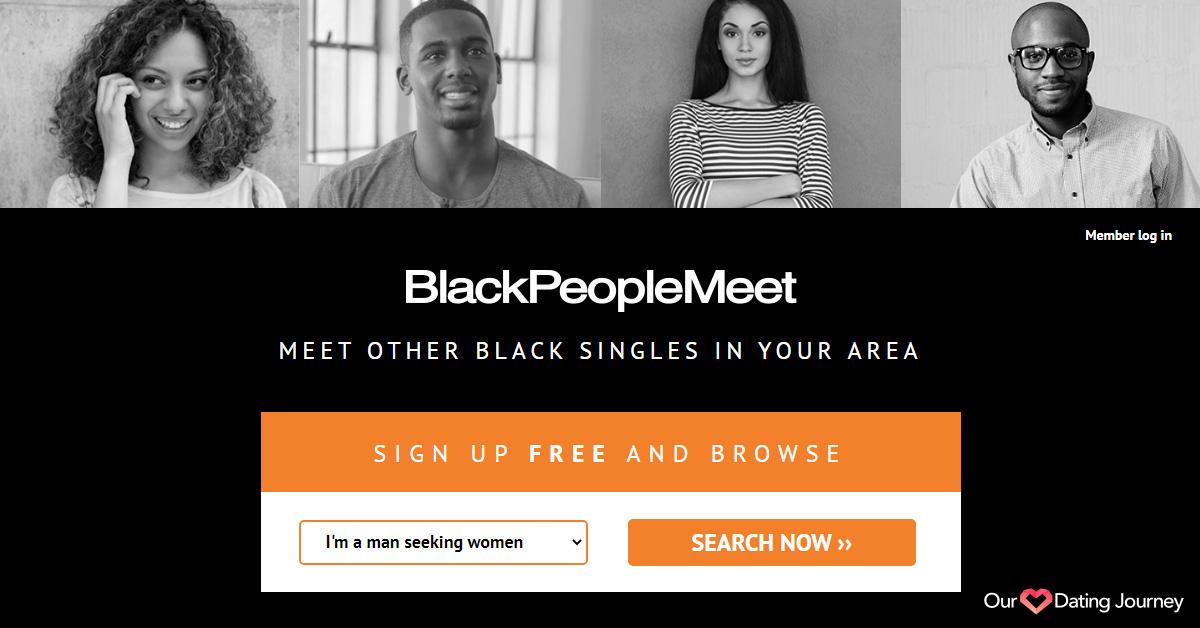 BlackPeopleMeet Home