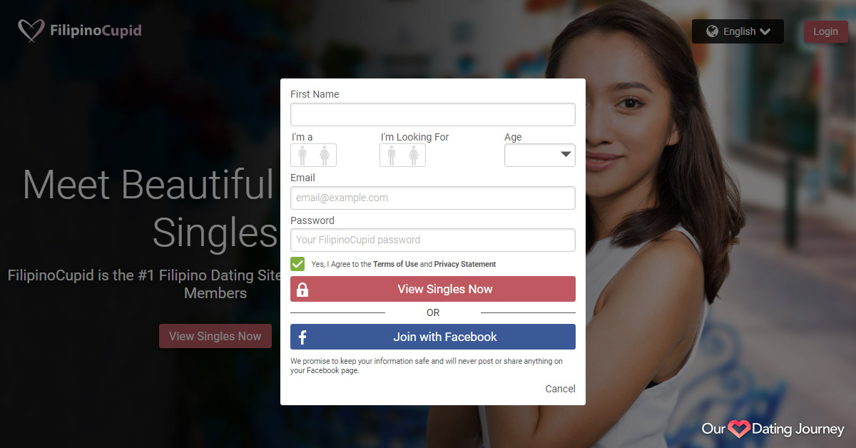 FilipinoCupid Sign up