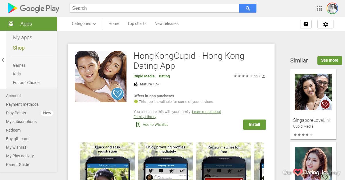 Hong Kong Cupid App