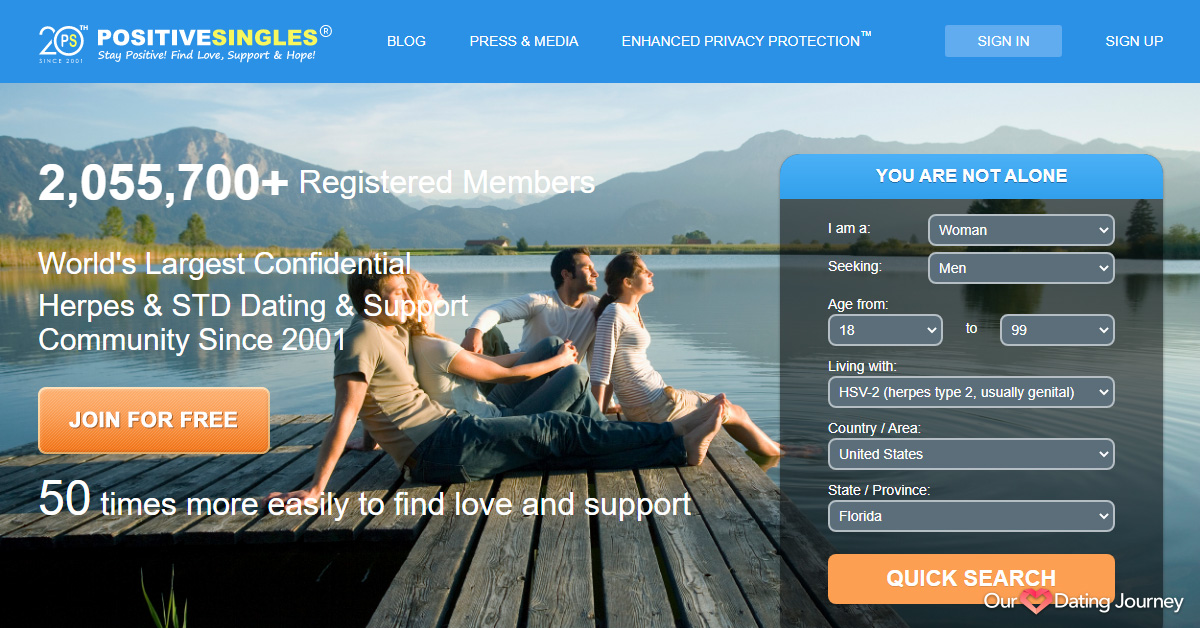 Positive Singles Home Page