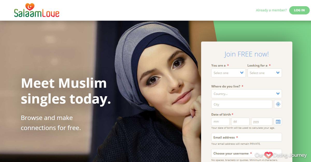 Salaam Love Home page