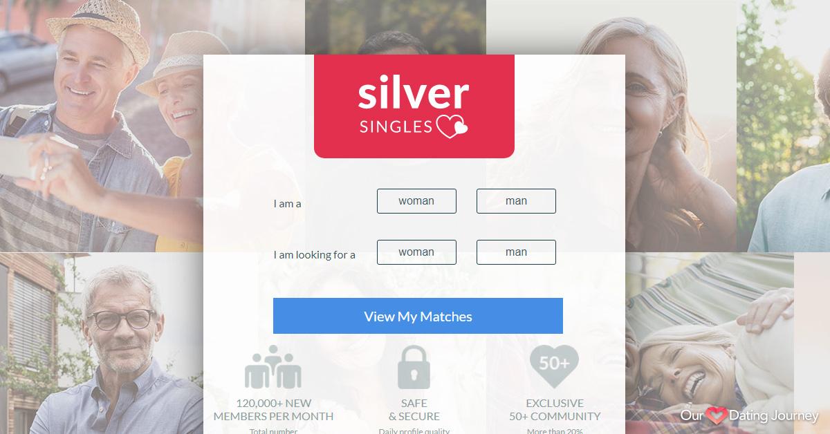 SilverSingles Home Page