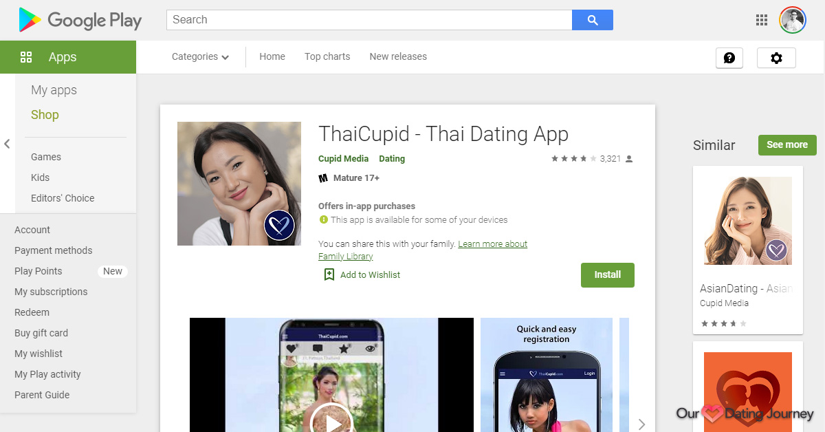 ThaiCupid App on Google Play