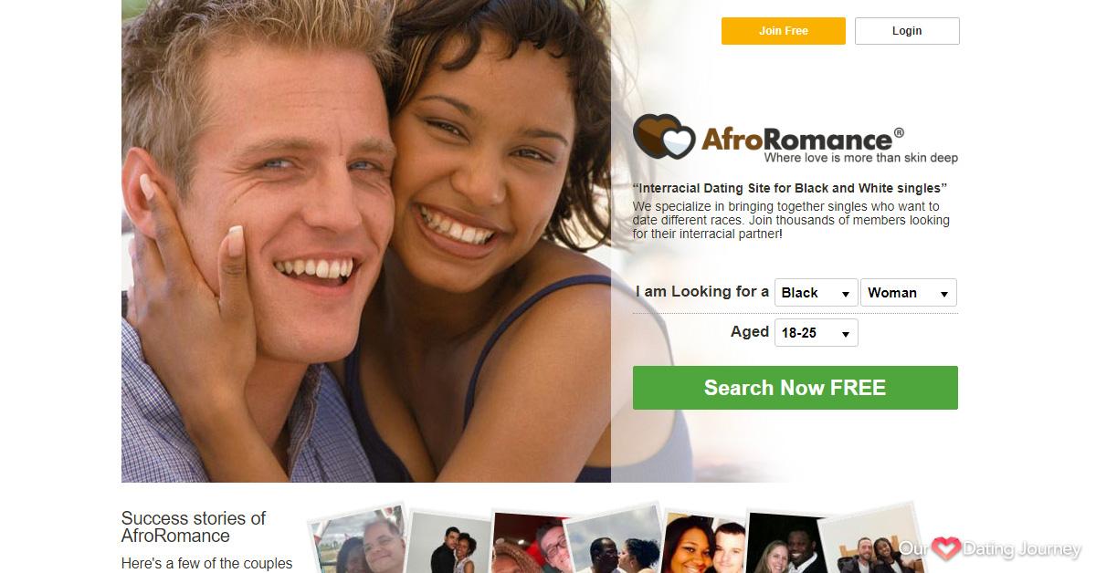 AfroRomance website