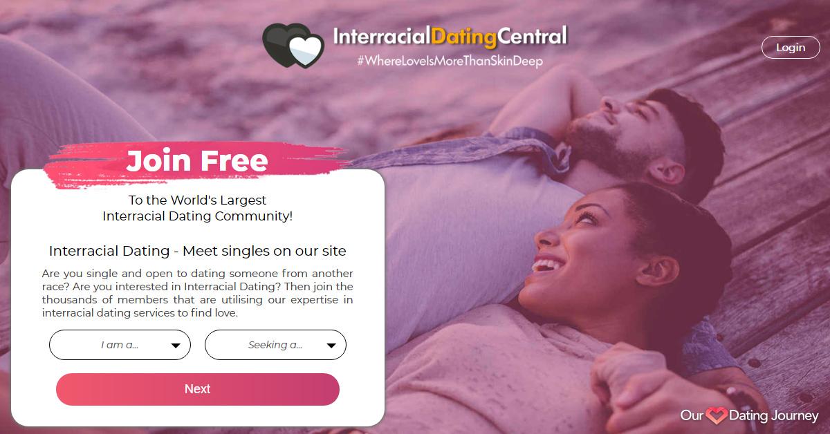 Interracialdatingcentral website