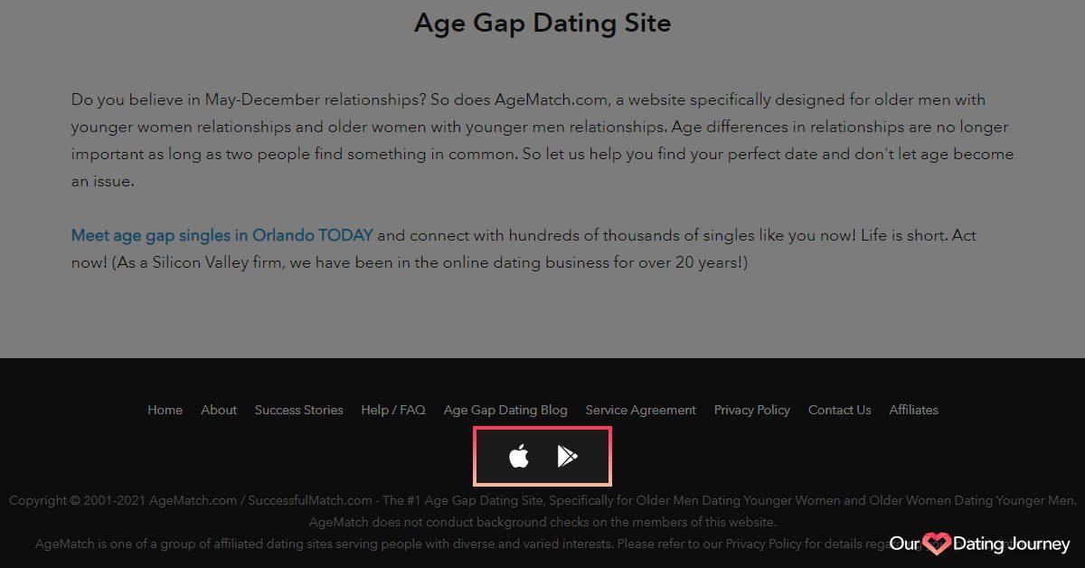agematch download app links