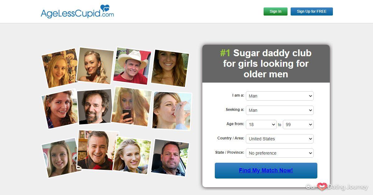 AgeLessCupid website