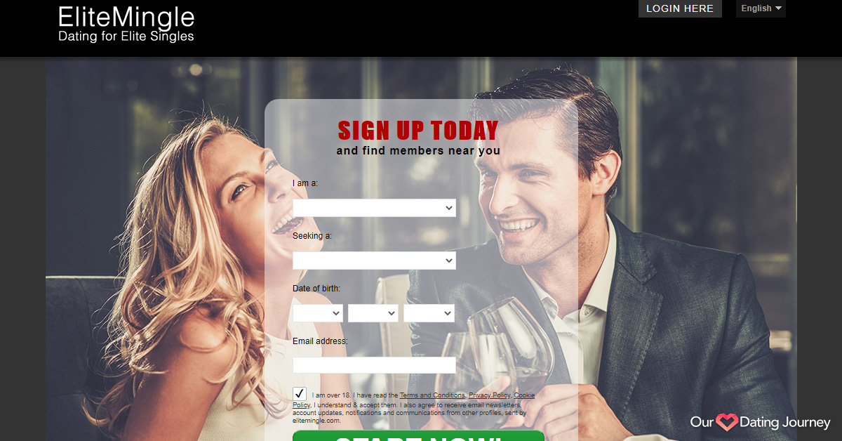 EliteMingle website