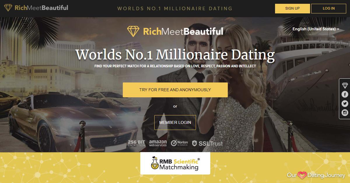 RichMeetBeautiful website