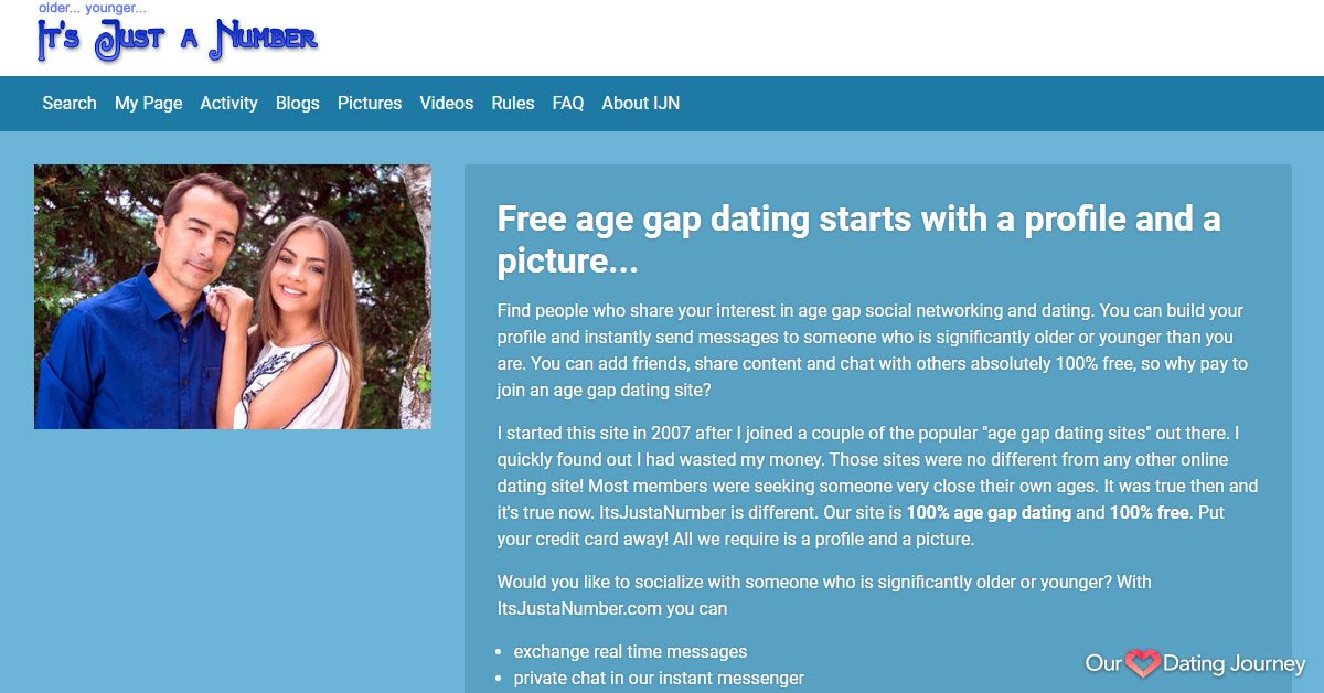 its just a number dating website