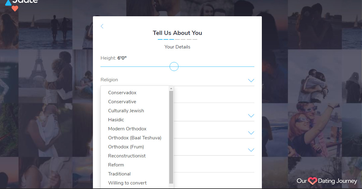 jdate signup about you 2