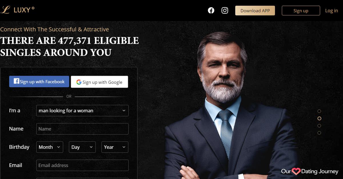 Luxy website