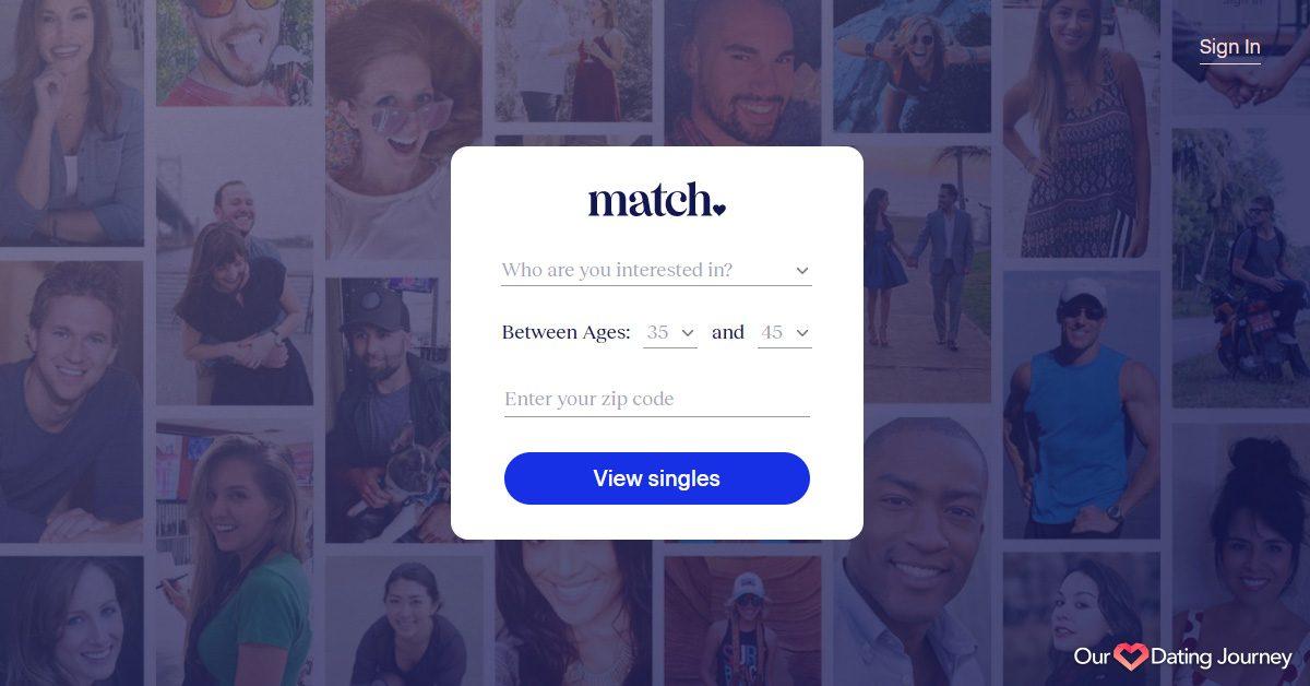 match com registration step 1