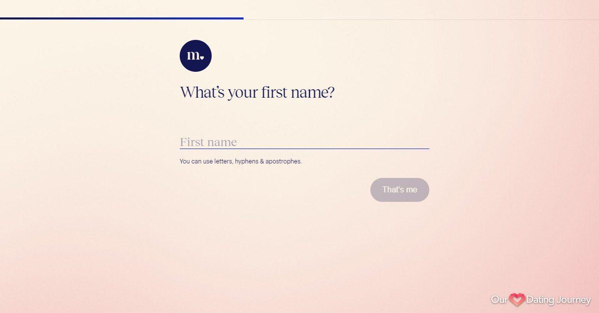match com registration step 3