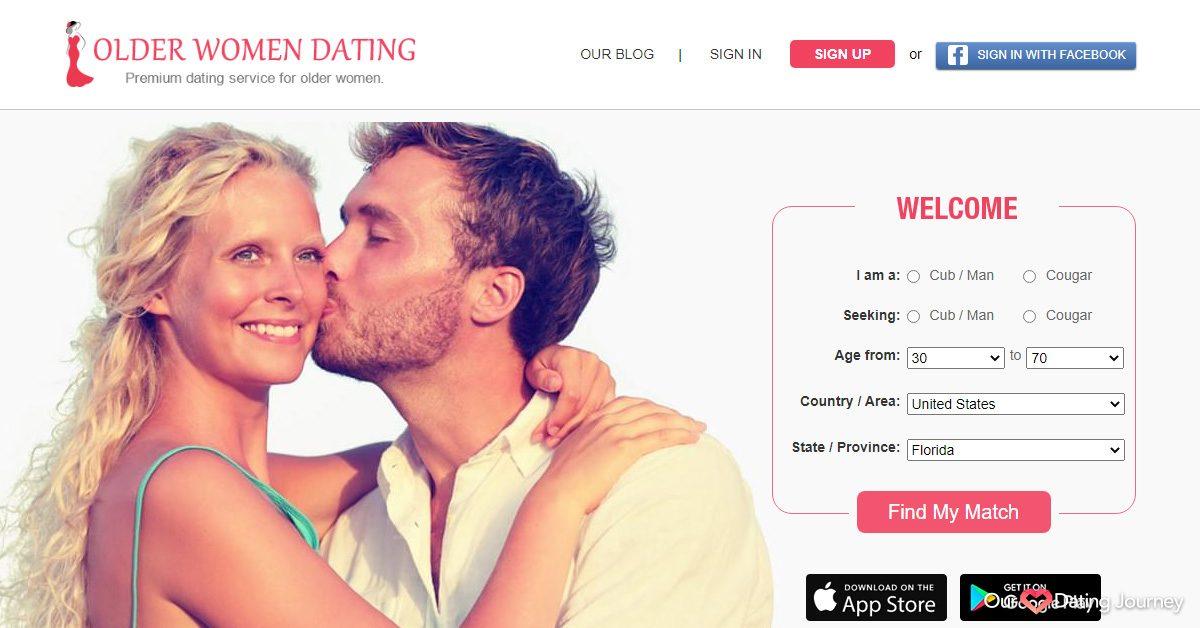 older women dating website