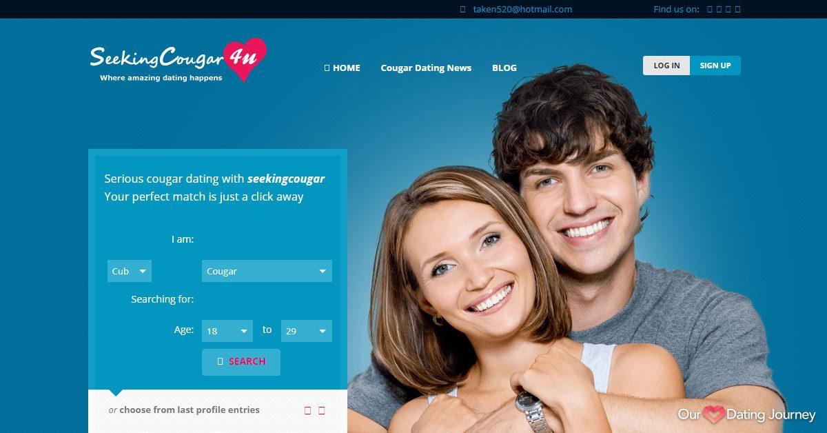 seeking cougar dating website
