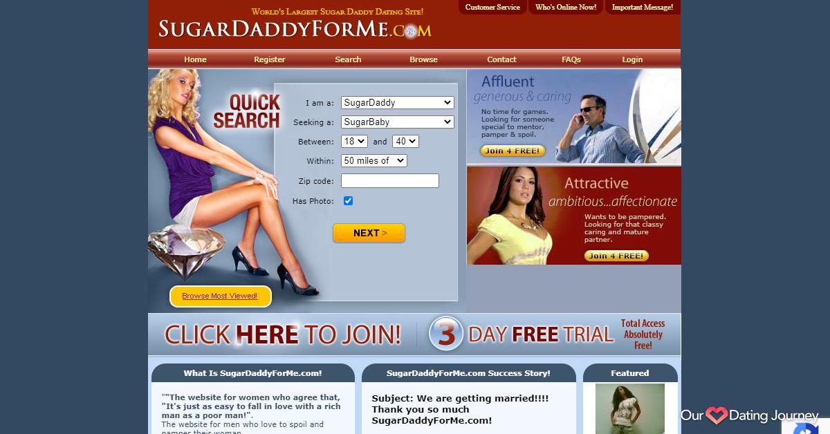 sugardaddyforme website